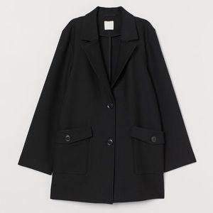 H&M Short Black Winter Coat